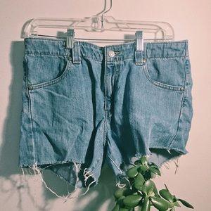 size 12 m levi's shorts